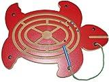 Magnetspiel Schildkröte / Material: Holz / Maße: 40 x 29 x 1,5 cm / inkl. 1 Stift mit Kordel / für Kinder ab 3 Jahren