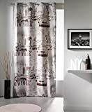 vorhang mit sen manhattan new york motiv 140 x 240 cm ref 06 098 100 polyester. Black Bedroom Furniture Sets. Home Design Ideas