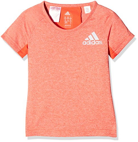 adidas Mädchen YG Run T-Shirt, Energy, 128