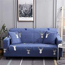 Hotniu Funda de sofá Impresa para 1 2 3 Sofá de 4 plazas-Spandex Ajuste