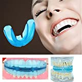 #3: Gowri Express Dental Braces for Teeth Alignment Training Orthodontic Tooth Guard Bruxism transparent blue Color