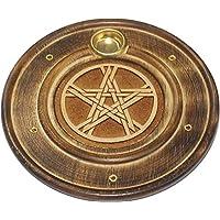 Find Something Different Etwas Finden Verschiedene Gravur Holz Pentagramm-Räucherstäbchen und Kegel Halter, Multicolor preisvergleich bei billige-tabletten.eu