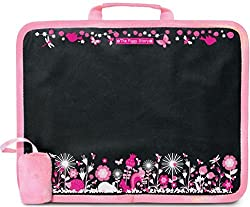 The Piggy Story Garden Life Chalk n Doodle Childs Chalk Board Lap Desk for Portable Play