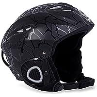 OutLife Casco de Esquí Unisex Helmets Snowboard, Material EPS y PC con Ajustable Hebilla Interior Cubierta de Orejas y Sistema de Ventilación