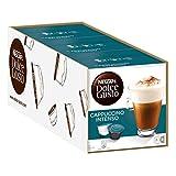 Nescafé Dolce Gusto Cappuccino Intenso, Milchkaffee, Kaffeekapsel, Kaffee, 48 Kapseln (24 Portionen)