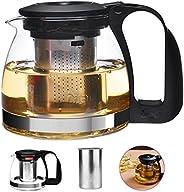 Çaydanlık cam çay hazırlayıcı ile paslanmaz çelik süzgeç Xagoo 700ml