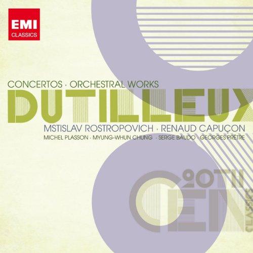 Dutilleux : Concertos - Oeuvres pour orchestre
