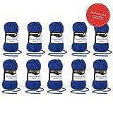 Baumwollgarn günstig kaufen * Catania Grande navy (Fb 5124) 20% REDUZIERT * 10 Knäuel blaue Wolle zum Stricken - Schachenmayr Wolle reduziert - 20% günstiger - Restposten Wolle - Häkelgarn von MyOma