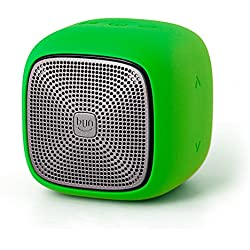 Edifier MP200 Portable Bluetooth Speaker - IP54 Water Dust Proof with microSD Card for Hiking Camping Outdoors - Green