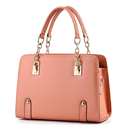 koson-man-womens-pu-leather-vintage-beauty-fashionable-tote-bags-top-handle-handbagorange