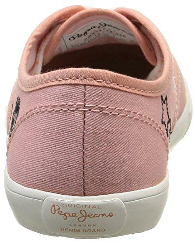 Pepe Jeans Mädchen Soho Draw Sneaker Rosa