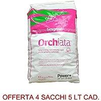 OFFERTA 4 PZ ORCHIATA POWER 12-18 MM 5LT SUBSTRATO ORCHIDEE GIARDINAGGIO FIORI
