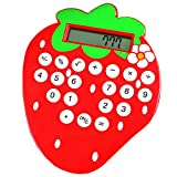 Belle Fraise Calculer Calculatrices Rouge