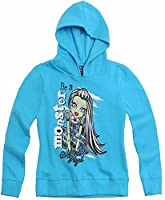 Official Monster High Sweat jacket hoodie with hood by Monster High-140cm-Design 2