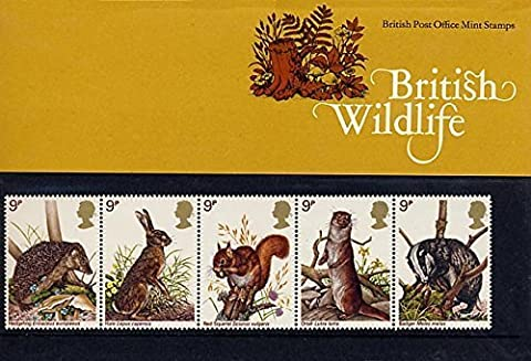 1977 BRITISH WILDLIFE STAMPS Presentation Pack.