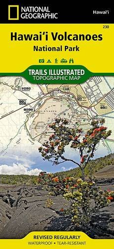 Hawaii Volcanoes National Park (Trails Illustrated Maps)