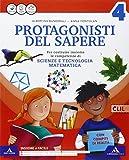Protagonsiti del sapere. Sussidiario scientifico. Quaderno scientifico. Per la Scuola elementare. Con e-book. Con espansione online: 1