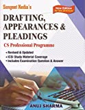 Pooja Law Publishing's Drafting, Appearances & Pleadings for CS Professional June 2018 Exam by Anuj Sharma, Sangeet Kedia