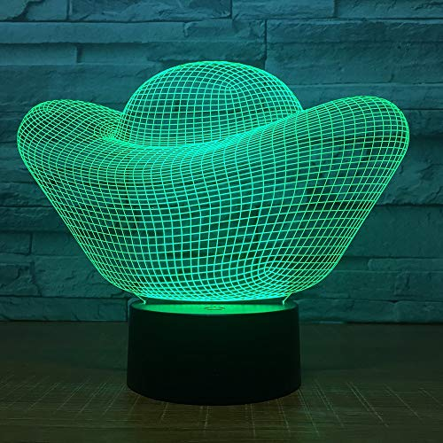Kleine nachtlichter kreative kinder spielzeug großhandel geschenke usb led nachtlicht neuheit luminaria led 3d leuchten