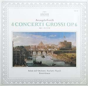 Corelli: 4 Concerti Grossi op. 6, No. 1, 8, 9 & 12 [Vinyl LP] [Schallplatte]