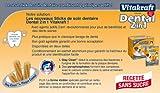Vitakraft Dental 3in1 Multipack - Zahnpflege-Snack für Hunde von 5-10 kg - 16x 7 Sticks -