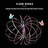 Flow ring, LEEHUR Magic Ring Kinetic Interactive Sculpture Metal Ring für Kinder Antistress Spielzeug