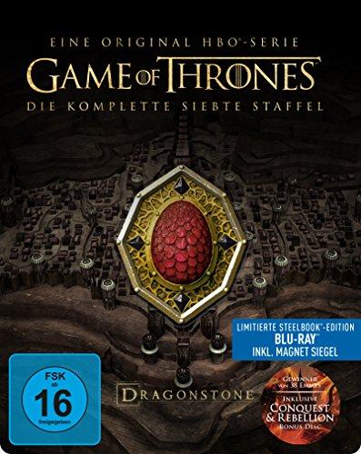 game of thrones steelbook staffel 3 Game of Thrones: Die komplette 7. Staffel als Steelbook (Limited Edition) [Blu-ray]
