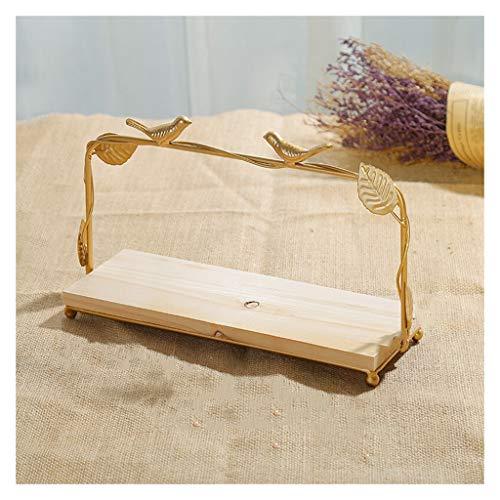 William 337 Obstablett, europäischer Einkaufskorb aus Holz, kreatives Ausstellungsregal, Dekoration für Zuhause, Obst, Holz, A -