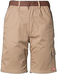 Planam Shorts Highline, größe S, khaki / braun / zink, 2374044