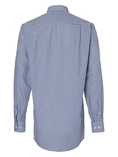 CASAMODA Herren Businesshemd 72er Ärmel Casual Fit Marineblau