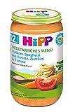 HiPP Vollkorn-Spaghetti mit Karotte, Zucchini und Tomate, 6er Pack (6 x 250 g)