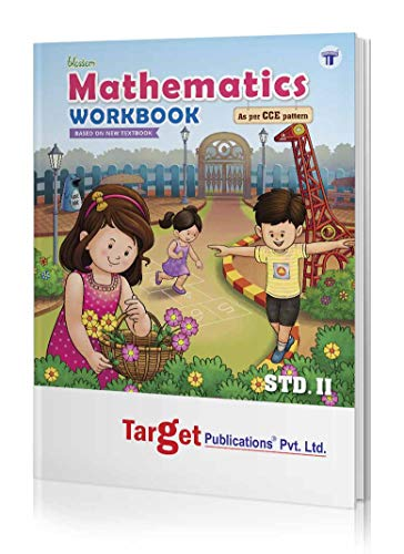 Blossom 2nd Std Mathematics Workbook for Primary Children | English Medium Maharashtra State Board | Based on Std 2 New Textbook | As per CCE Pattern | Includes Ample Exercises and Short Tests