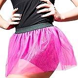 Glänzendes Neon Pinkes Tütü für den Junggesellenabschied