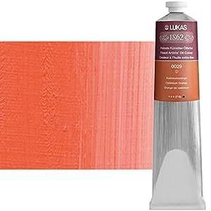 Lukas 1862Huile Cadmium Orange (0029), 200ml Belle d'Artiste Peinture à l'huile Dans qualité premium