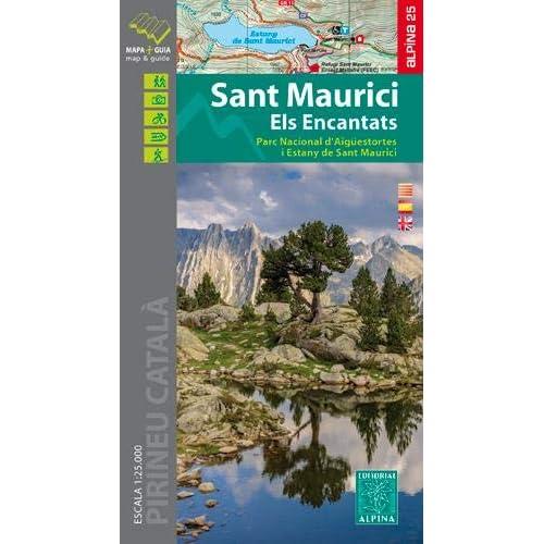 Sant Maurici / Els Encantats map&hiking guide 2019