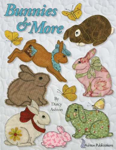 Bunnies More Bunny Patterns To Applique And Embroider