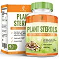 Earths Design Plant Sterols, Proven to Lower Cholesterol By Up to 20%, Maximum Strength 800mg, With Plant Stanols to Help Reduce Your LDL Cholesterol, Powerful Cardiovascular Benefits, 90 Tablets by Earths Design
