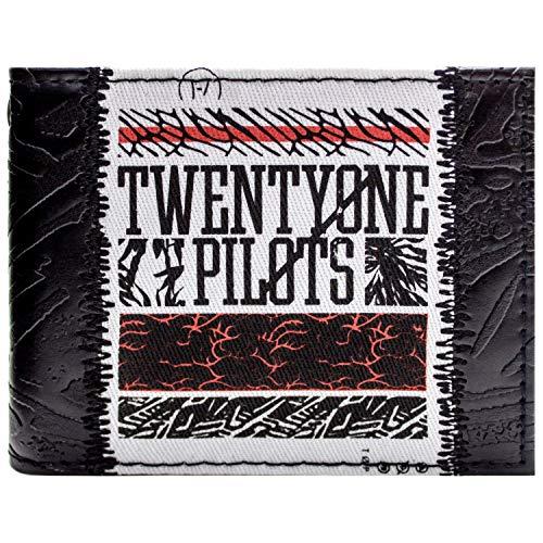 Twenty One Pilots Top Music Schwarz Portemonnaie ()