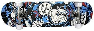 """Freegun Skateboard Noir/Bleu 31"""""""