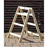 Arbeitsbock, Tapezierbock aus Holz 78 cm hoch