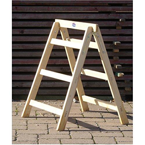 Holzklappbock flach zusammenlegbar,