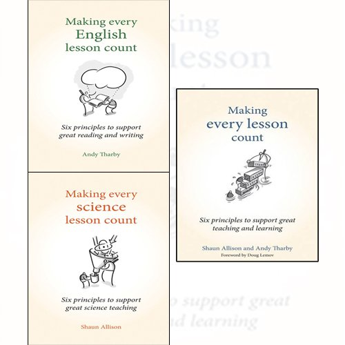 Making Every English Lesson Count,Making Every Science Lesson Count,Making Every Lesson Count 3 Books Collection Set