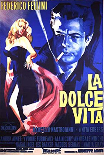 Dolce Vita, La - Poster - One Sheet - Italian Edition + Ü-Poster (Vita-poster Dolce)