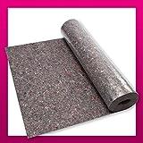 iLP Malervlies ca. 1 m x 50 m = 50 m² Abdeckvlies in Premium Qualität Einzelpack mit PE Anti Rutsch Beschichtung 180g je qm stark, rutschhemmender Malerfilz