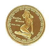 humpie Dumpie U.S.A. Inc. Medaille kopieren Feierlicher Währung Marilyn Monroe 1926–1962Durchmesser 4cm