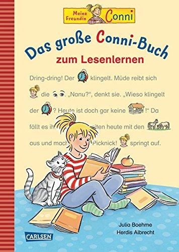 LESEMAUS zum Lesenlernen Sammelbände: Das große Conni-Buch zum Lesenlernen: Einfache Geschichten zum Selberlesen u2013 Lesen lernen, üben und vertiefen