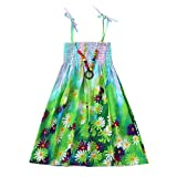 Vestidos para bebés niña,BBestseller Casuales Famoso Estampado de Viento Sling Skirt Bohemian Mini Vestir Vestidos Playa niña
