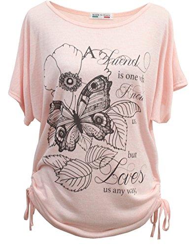 emma-giovanni-t-shirt-papillons-manche-courte-femme-m-l-rose