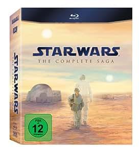 Star Wars – Complete Saga [Blu-ray]: Mark Hamill, Christopher Lee, Harrison Ford, Ewan McGregor, Carrie Fisher, Natalie Portman, Ian McDiarmid, George Lucas, Irvin Kershner, Richard Marquand