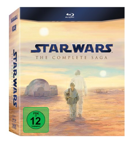 Star Wars - Complete Saga [Blu-ray] (Star Wars Blu-ray Set)